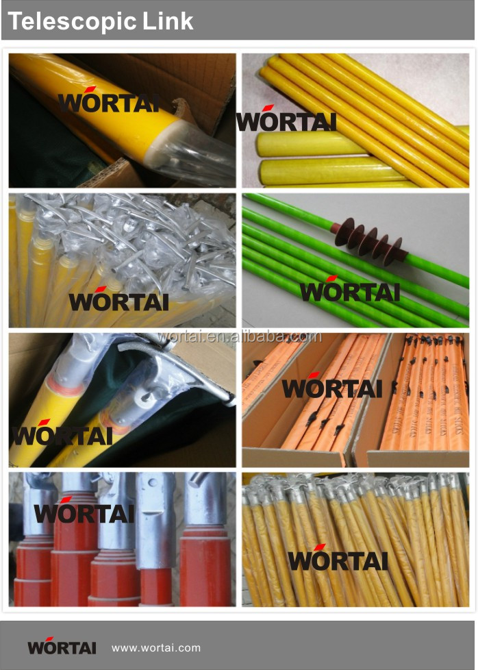 Aislamiento de fibra de vidrio telesc pica barra de - Barras de fibra de vidrio ...