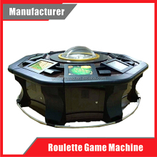 Popular 6/8/12 Players Coin Operated Electronic Casino Roulette Game Software Machine for Sale