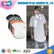 Men cotton casual shirts short sleeve bulk plain loose t-shirt custom design cheap clothing wholesale
