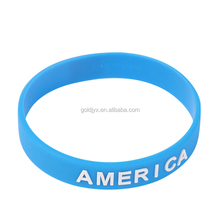 Cheap Price Promotional Colorful Printed bracelet ,Fashion Wristband with 3D printing