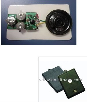 Recordable motion sensor