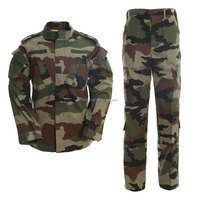 Tactical acu army use french camo military dress uniform