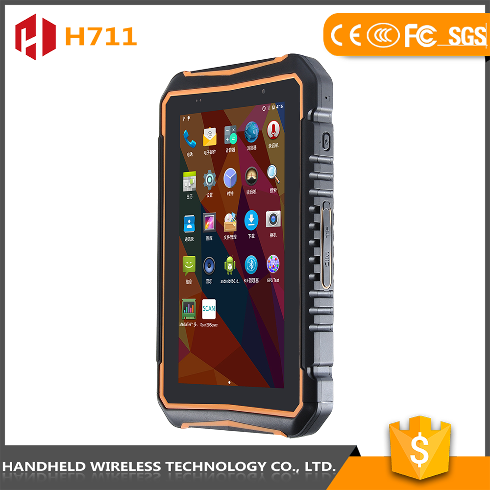 Android handheld UHF/ HF RFID reader writer PDA parking management system