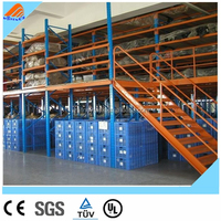 high quality china Rack supported buildings self storage warehouse mezzanine