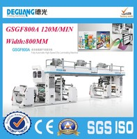 GSGF800A 2015 Hot sale Fully Automatic High Speed laminating machine and non woven laminating machine