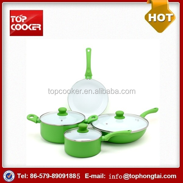 Aluminium Press White Ceramic Bakeware Cookware Sets