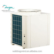 1 Heating room save 75% power for 1HP/1.5/HP/2HP dc inverter air source heat pump