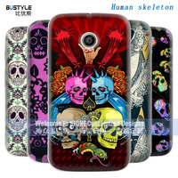 Small Minimum Order Skull Cell Phone Cover For Motorola Moto E