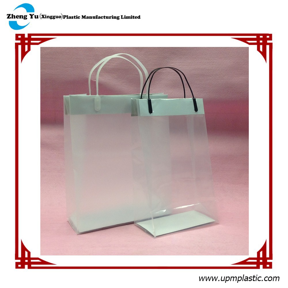 Waterproof Transparent Plastic Bag for Luxury Bags