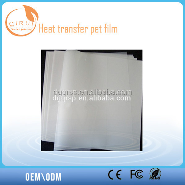 Thick edition printing PET release film