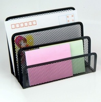 Hot Sell Office Stationery Desk Organiser Metal Mesh Letter Tray/Letter Holder