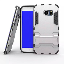 High Qualiy Stand Armor Case For Samsung Galaxy s6 ,Iron Man Case For Samsung Galaxy S6