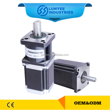 Nema 34 stepper motor with planetary gearbox