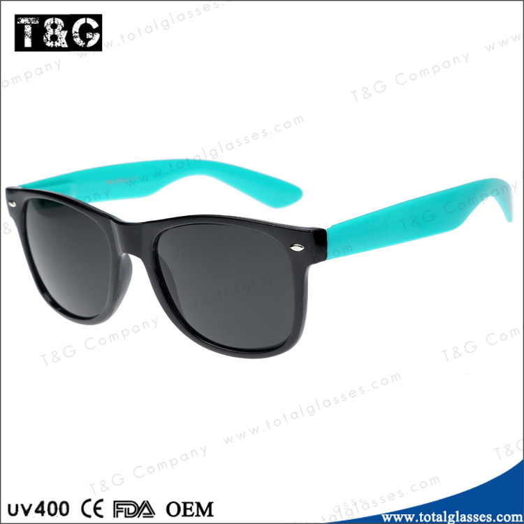 2014 New fashion sunglasses two color frame vintage model glasses custom logo oculos
