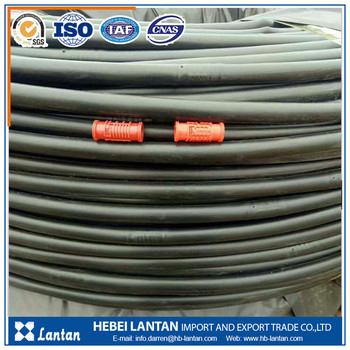 ISO certificated 16mm PE drip irrigation pipe for agriculture irrigation