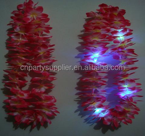lighting hawaii plastic flower lei lighting hawaii plastic flower