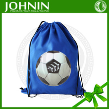 high quality Recycled custom printed polyester gym drawstring bags