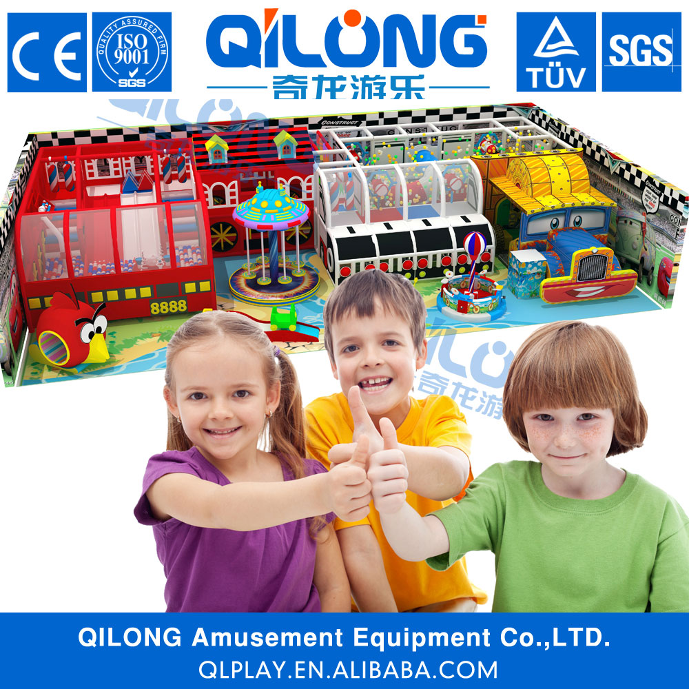 Car theme used indoor playground equipment sale