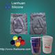 liquid Silicon ink gel for textile screen printing,the trademarks of jeans,shoes,toys
