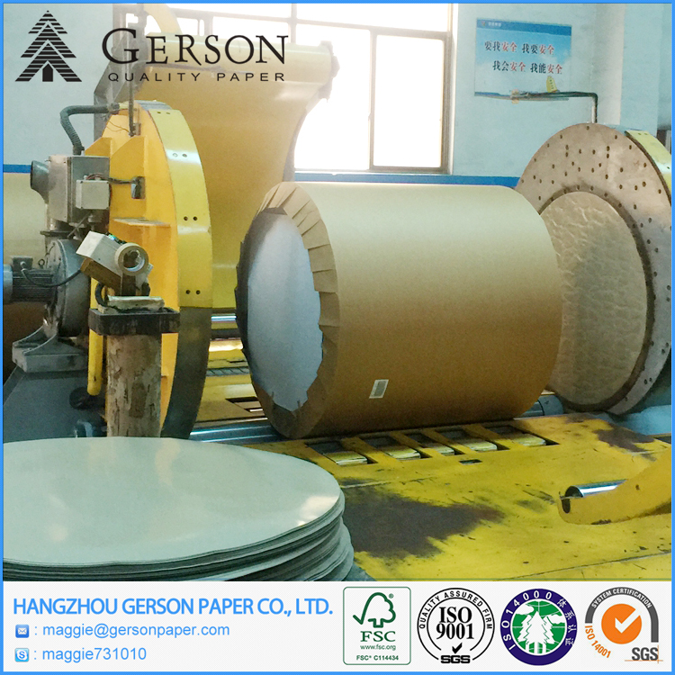Good Quality Waste Paper Coated Duplex Board Grey Back Raw Material For Packing Paper