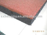 recycled rubber paving