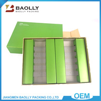Luxury packaging custom drawer design fancy cosmetic gift packing box drawer perfume gift box