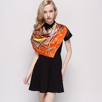 best-selling women silk scarves shawls