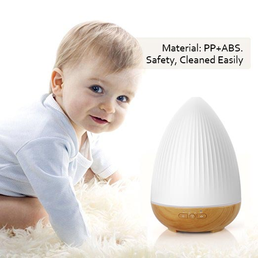Factory Promotion ultrasonic essential oil aroma diffuser / led humidifier Alexa voice APP control for Home,office,bedroom