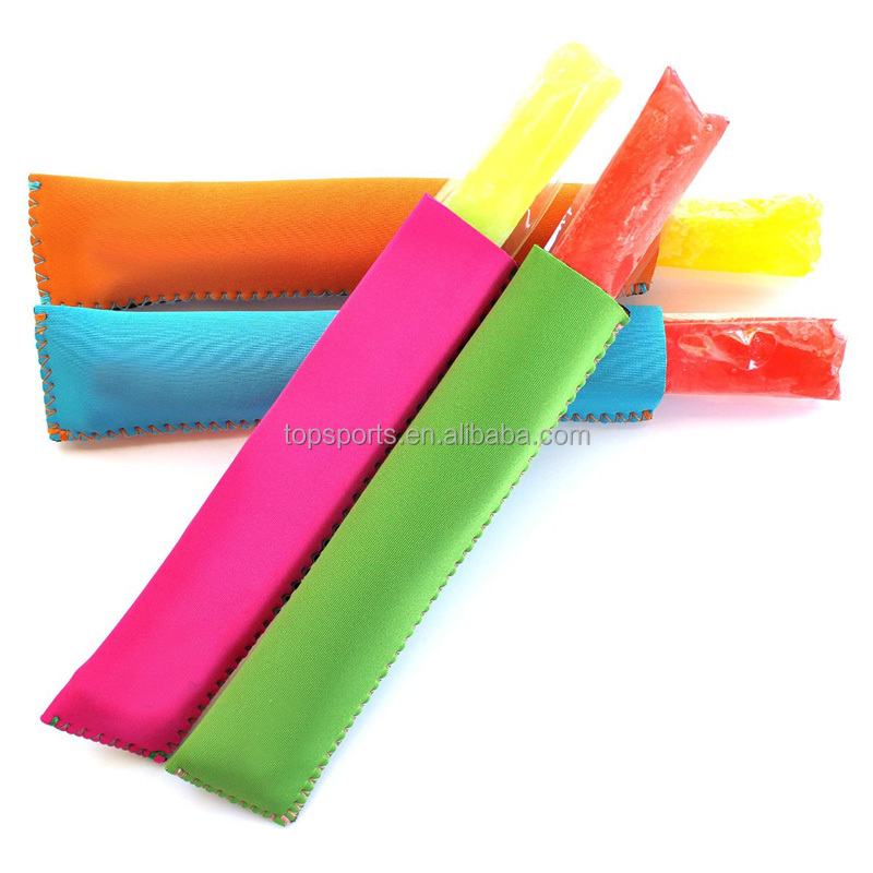 Custom Size Popsicle Sleeve Holders - Ice Pops and Freezer Pops