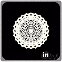 White paper doilies for scrapbooking and crafting with cheap price