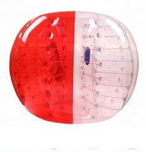 Guangzhou outdoor PVC soccer bubble ball inflatables zorb bumper ball for adults/kids