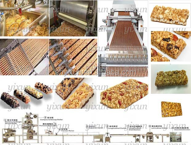YX/CB800 China muesli bar production line