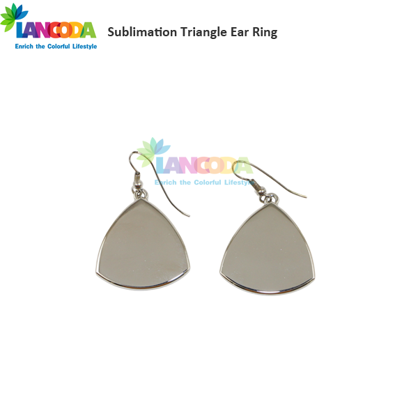 DIY Triangle Sublimation Earrings