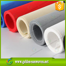 Laminated pp / pe film coating spun-bond non-woven fabric tablecloth rolls supplier
