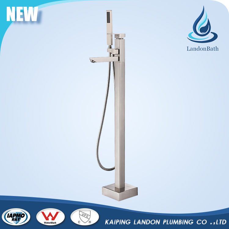 New style nickle Surface treatment metal bathtub shower mixer