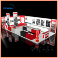 free 3D exhibition booth design, open 6x12 meters exhibition booth