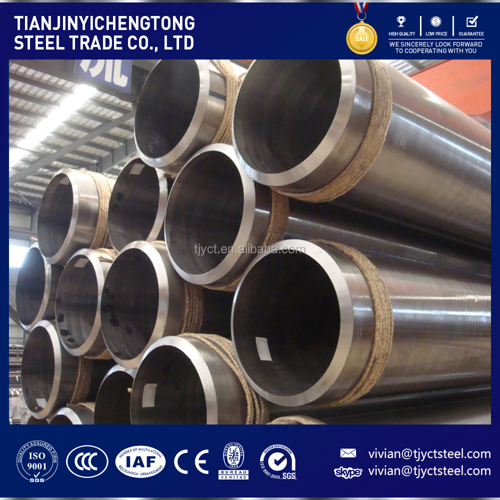 high quality alloy tube EN 10216-2 13CrMo4-5 cold drawn seamless boiler steel tube