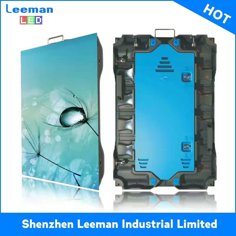 high contrast mask p16 led display indoor super slim rental led panel