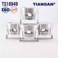 Guaranteed quality unique auto spare parts engine piston for peugeot 405