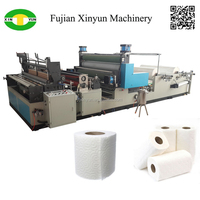 Low price kitchen paper manufacturing equipment