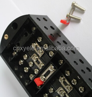 European Standard telephone terminal block junction box with transparent PC cover
