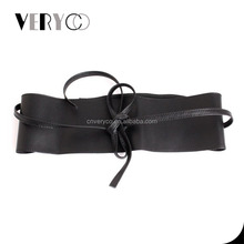 Women's Cow Leather Belt Ladies Sexy Wide Waist Belt