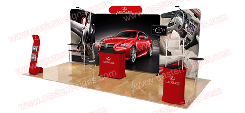 Custom Portable trade show display
