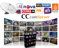 CCcam cline IKS account CCcam Server 1 year validity free trial support CCCAM Receiver