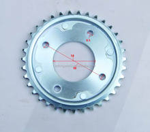 Japanese Brand Motorcycle C100 Spare Part Chain Drive Sprocket 35T-15T