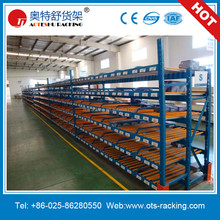 Warehouse Flow Roller Storage Rack And Rolling Shelving