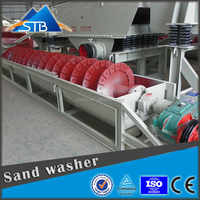LX series silica big screw sand washer/ washing machine with best price for sale