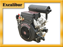 V-Twin 20HP Two cylinder Small air cooled diesel engine for sale