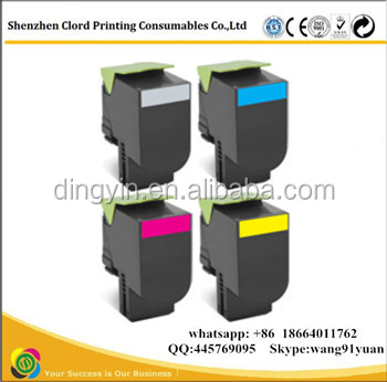 Wholesale! Compatible Lexmark CS310 CX310 color toner cartridge