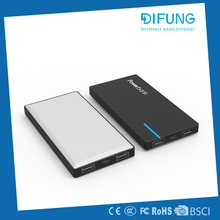 new fashionable stylish power bank cross 12000mah ecofriendly